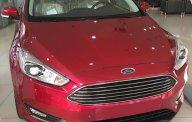City Ford: Bán Focus Titanium năm SX 2018, màu đỏ, trả trước 150 triệu giá 730 triệu tại Tp.HCM