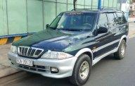 Cần bán xe Ssangyong Musso đời 2000, màu xanh lam, giá tốt giá 125 triệu tại Tp.HCM