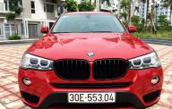 Bán xe BMW X3 sản xuất 2016 màu đỏ, 1 tỷ 750 triệu nhập khẩu giá 1 tỷ 750 tr tại Hà Nội