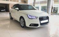 Bán Audi A1 sx 2011, màu trắng, nội thất nâu đen, tên cá nhân 1 chủ từ đầu, biển số Hà Nội giá 580 triệu tại Hà Nội