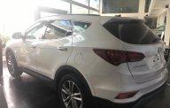 Bán ô tô Hyundai Santa Fe 2.4 năm sản xuất 2018, màu trắng giá 1 tỷ 40 tr tại Hà Nội