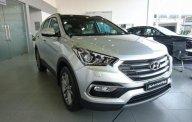Bán Hyundai Santa Fe 4WD đời 2018, màu bạc giá 1 tỷ 20 tr tại Hà Nội