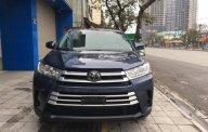 Cần bán xe Toyota Highlander sản xuất 2017, màu xanh lam, nhập khẩu giá 2 tỷ 600 tr tại Hà Nội