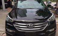 Bán Hyundai Santa Fe 2.2L năm 2016, màu đen, biển thành phố rất mới giá 1 tỷ 80 tr tại Hà Nội