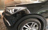 Bán xe Hyundai Santa Fe máy dầu SX 2016, màu đen giá 1 tỷ 80 tr tại Hà Nội