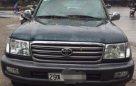 Cần bán gấp Toyota Land Cruiser đời 2002 màu xanh lục, giá tốt, xe nhập giá 345 triệu tại Hà Nội