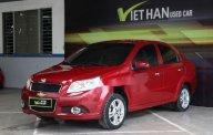 Bán Chevrolet Aveo LT 1.4MT năm sản xuất 2017, màu đỏ giá 366 triệu tại Tp.HCM