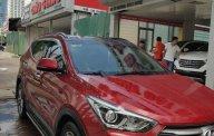 Bán Hyundai Santa Fe năm 2017, màu đỏ giá 1 tỷ 130 tr tại Hà Nội