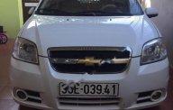 Bán Chevrolet Aveo đời 2012, màu trắng xe gia đình giá 218 triệu tại Hà Nội