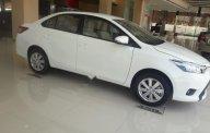 Bán Toyota Vios 1.5E đời 2018, màu trắng giá cạnh tranh giá 512 triệu tại Hải Phòng