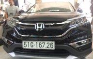 Cần bán Honda CR V 2.4 AT sản xuất 2017, màu đen như mới giá cạnh tranh giá 980 triệu tại Tp.HCM