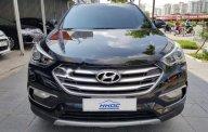 Bán Hyundai Santa Fe CRDi sản xuất 2016, màu đen giá 1 tỷ 68 tr tại Hà Nội