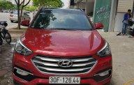 Bán Hyundai Santa Fe 2.2L 4WD sản xuất 2017, màu đỏ, biển TP, odo 1vạn km giá 1 tỷ 130 tr tại Hà Nội