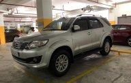 Cần bán xe Toyota Fortuner đời 2013, màu bạc, xe nhập chính chủ giá 700 triệu tại Tp.HCM