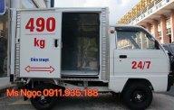 Bán Suzuki Super Carry Truck SD490 cửa lùa, chạy được phố cấm, màu trắng, LH 0911.935.188 giá 275 triệu tại Hải Phòng