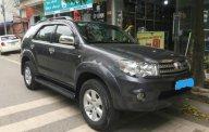 Cần bán Toyota Fortuner 2.7V 4x4 đời 2009, màu xám giá 495 triệu tại Hà Nội