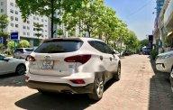 Bán ô tô Hyundai Santa Fe 2.2 AT đời 2017, màu trắng, giá tốt giá 1 tỷ 130 tr tại Hà Nội