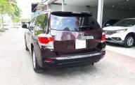 Cần bán lại xe Toyota Highlander 2.7L năm sản xuất 2011, màu đỏ, nhập khẩu giá 1 tỷ 180 tr tại Hà Nội