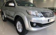 Cần bán lại xe Toyota Fortuner năm sản xuất 2014, màu bạc số tự động giá 775 triệu tại Quảng Ngãi