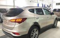 Cần bán xe Hyundai Santa Fe sản xuất 2018, màu ghi vàng  giá 1 tỷ 20 tr tại Sơn La