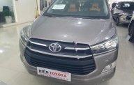 Cần bán xe Toyota Innova 2.0E năm sản xuất 2016, màu xám xe gia đình giá 700 triệu tại Tp.HCM