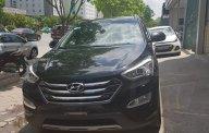 Cần bán Hyundai Santa Fe 2.4L Full xăng, sản xuất 2015, màu đen, 945tr giá 945 triệu tại Hà Nội