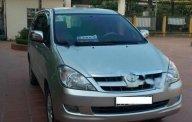 Cần bán lại xe Toyota Innova 2.0G 2008, màu bạc chính chủ giá 398 triệu tại Hà Nội