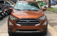 Cần bán xe Ford EcoSport titanium 2018, màu cam, 648tr giá 648 triệu tại Tp.HCM