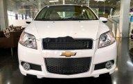 Bán xe Chevrolet Aveo MT năm sản xuất 2018, màu trắng  giá 399 triệu tại Tp.HCM