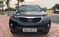 Cần bán gấp Kia Sorento 2.4MT sản xuất 2013, màu đen   giá 600 triệu tại Hà Nội