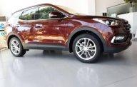 Cần bán xe Hyundai Santa Fe đời 2018, màu đỏ giá 1 tỷ 200 tr tại Gia Lai