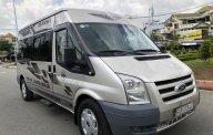 Transit ĐK 2010 màu bạc 16 chỗ, xe nhà xài kĩ không chạy kinh doanh, dịch vụ giá 310 triệu tại Tp.HCM