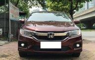 Bán Honda City Top 1.5 AT sản xuất 03/2018 màu đỏ mận, biển Hà Nội giá 639 triệu tại Hà Nội