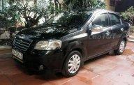 Cần bán lại xe Daewoo Gentra sản xuất năm 2007, màu đen chính chủ, giá 155tr giá 155 triệu tại Hà Nội