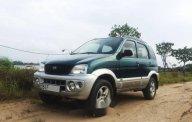 Cần bán lại xe Daihatsu Terios năm 2003, màu xanh giá 195 triệu tại Tp.HCM
