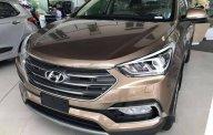 Cần bán Hyundai Santa Fe đời 2018, màu nâu, giá tốt giá 1 tỷ 30 tr tại BR-Vũng Tàu