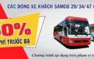 Cần bán xe khách Samco Máy Isuzu Nhật Bản 34 ghế tưng bừng khuyến mãi giá 1 tỷ 580 tr tại Tp.HCM