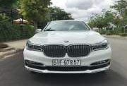 Cần bán xe BMW 7 Series SX 2016, màu trắng, nhập khẩu nguyên chiếc giá 3 tỷ 520 tr tại Tp.HCM