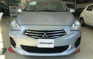 Bán ô tô Mitsubishi Attrage đời 2018, màu bạc, xe nhập, giá 375tr, cho góp đến 80% giá 375 triệu tại Đà Nẵng