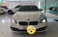 Bán xe BMW 5 Series 520i sx 2015, model 2016, màu trắng, nhập khẩu giá 1 tỷ 565 tr tại Hà Nội