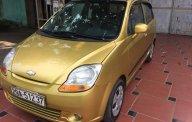 Bán Chevrolet Spark LT năm 2009, màu vàng giá 125 triệu tại Hà Nội