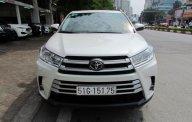Bán Toyota Highlander 2018 màu trắng giá 2 tỷ 495 tr tại Hà Nội