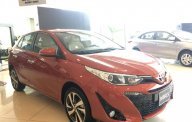 Bán xe Toyota Yaris G 2018 màu cam giao ngay giá 650 triệu tại Hà Nội