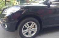 Bán xe Hyundai Santa Fe 2012 số tự động, máy dầu, màu đen giá 715 triệu tại Tp.HCM