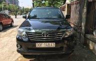 Bán Toyota Fortuner 4x2 AT 2013, màu đen còn mới giá 675 triệu tại Hà Nội