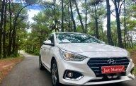 Bán Hyundai Accent đời 2018, màu trắng, full options giá 540 triệu tại TT - Huế