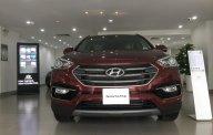 Hyundai Santa Fe 2018 màu đỏ, full xăng, xe có sẵn giao ngay giá hot, hỗ trợ vay mua trả góp giá 1 tỷ 100 tr tại Tp.HCM