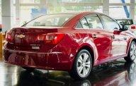 Bán Chevrolet Cruze 1.6 LT năm sản xuất 2018, màu đỏ, giá chỉ 539 triệu giá 539 triệu tại Tp.HCM