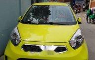 Cần bán lại xe Kia Morning SI AT 2016, màu vàng, xe gia đình, giá 355tr giá 355 triệu tại Tp.HCM