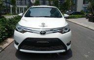 Bán Toyota Vios 1.5G AT năm sản xuất 2018, màu trắng, xe đẹp giá 595 triệu tại Hà Nội